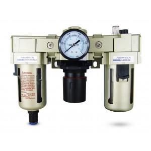 Filtr odwadniacz naolejacz reduktor FRL 3/4 cala zestaw do powietrza  AC4000-06D