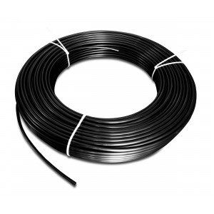 Przewód wąż poliamid PA Tekalan 6/4 mm 1mb czarny