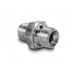 """Nypel hydrauliczny ciśnieniowy gz 3/8"""" - gz 3/8"""""""