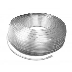 Przewód wąż pneumatyczny poliuretanowy PU 6/4 mm 50mb transp