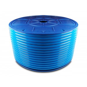 Przewód wąż pneumatyczny poliuretanowy PU 10/6,5 mm 100mb niebieski