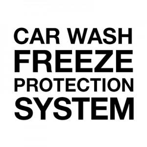 System zabezpieczenia myjni przed zamarzaniem