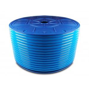 Przewód wąż pneumatyczny poliuretanowy PU 6/4 mm 100mb niebieski