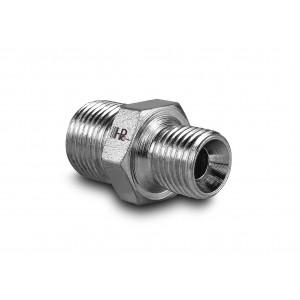"""Nypel hydrauliczny ciśnieniowy gz 1/4"""" - gz 3/8"""""""