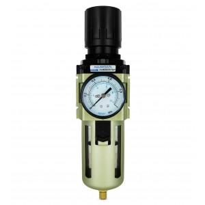 "Filtr odwadniacz reduktor regulator manometr 1/2"" cala AW4000-04"