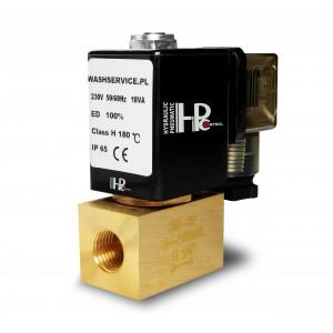 Elektrozawór 2M10 3/8 cala 0-16bar 230V 24V 12V