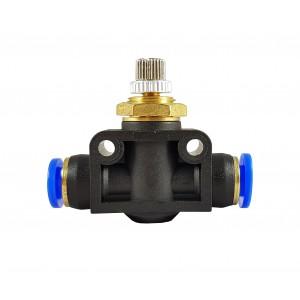 Dławik zawór precyzyjny wąż 8mm regulator przepływu LSA08