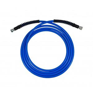Przewód ciśnieniowy Ultra Lekki wąż 1/4 cala 6 metrów niebieski 330bar myjnia