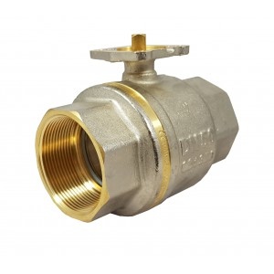 Zawór kulowy 2 cale DN50 PN25 pod siłownik ISO5211