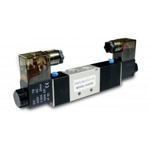 Elektrozawór 5/3 4V230E 1/4 cala do siłowników 230V lub 12V, 24V