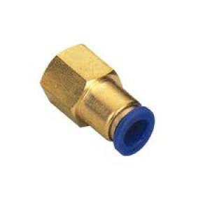 Złączka wtykowa wąż 6mm wewnętrzny gwint 1/4 cala PCF06-G02