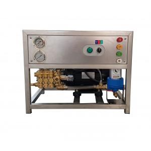 Zestaw pompa silnik stelaż myjni z osprzętem 13 l/min 150bar odpowiednik CAT350